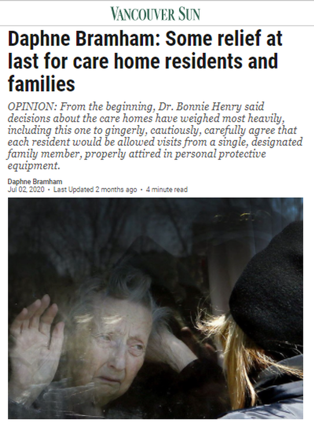Daphne-Bramham-Some-relief-at-last-for-care-home-residents-and-families-Vancouver-Sun.